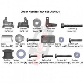 Rotor Base Set (S5)
