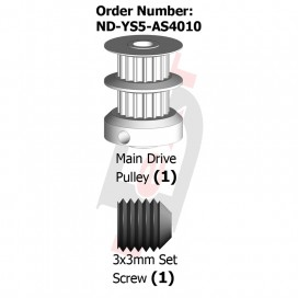 Main Drive Pulley 16T (S5)